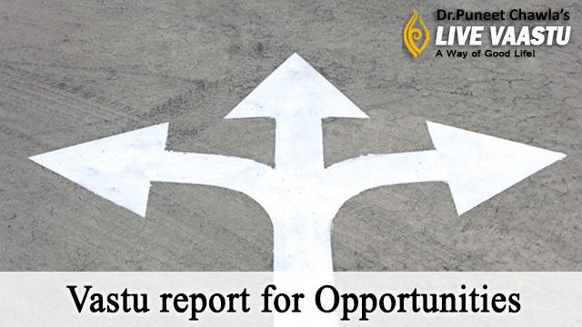 Vastu report for Opportunities