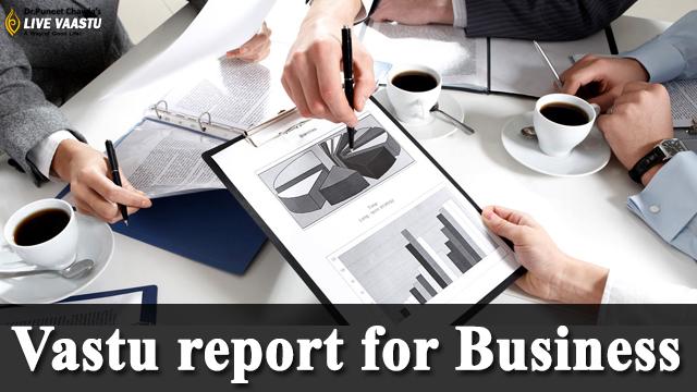 Vastu report for Business