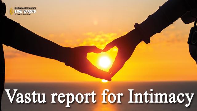 Vastu report for Intimacy