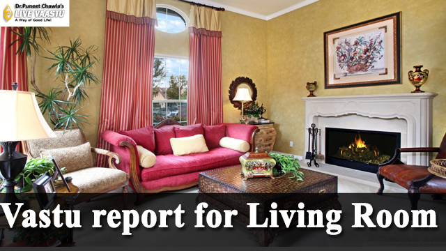 Vastu report for Living Room