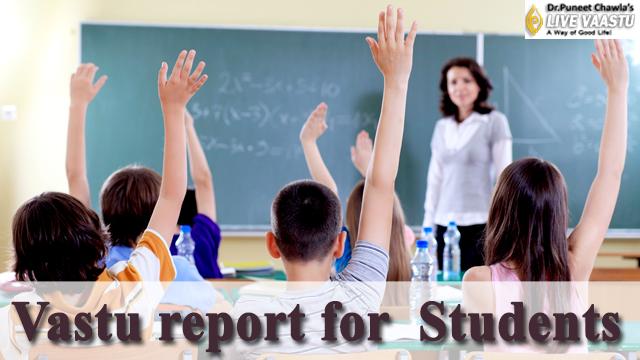 Vastu report for student