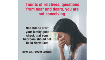 Taunts of relatives, questions from near and dears, you are not conceiving