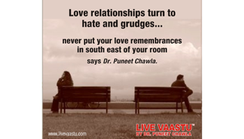 Love relationships turn to hate and grudges...