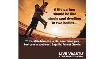 A life partner should be like single soul dwelling in two bodies...