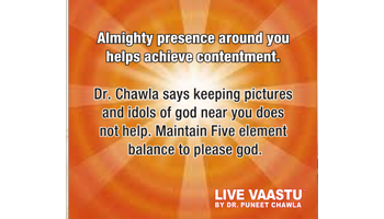 Almighty presence around you helps achieve contentment.