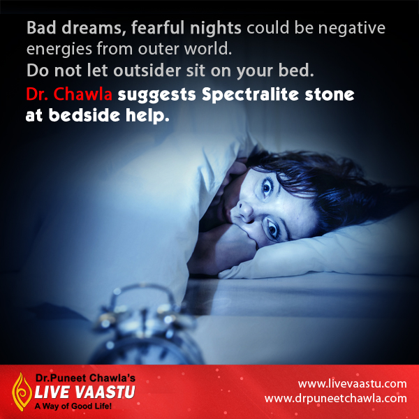 Dr. Chawla Suggests Spectralite stone can remove negative energies from your house.